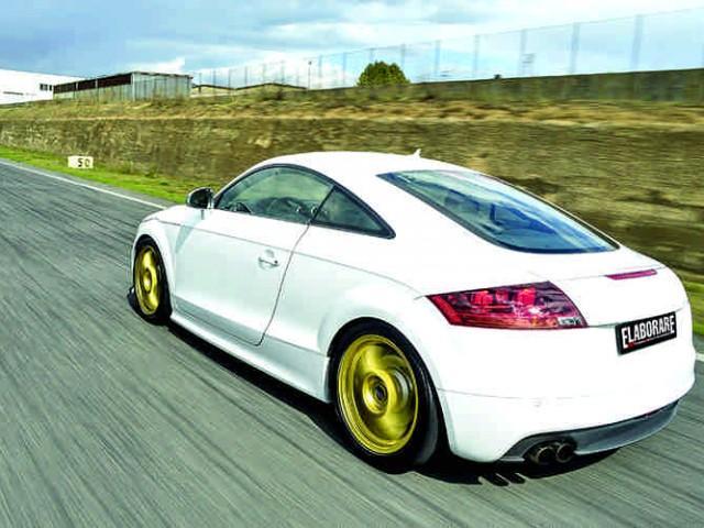 Audi TT TFSI S-Tronic test in pista Isam