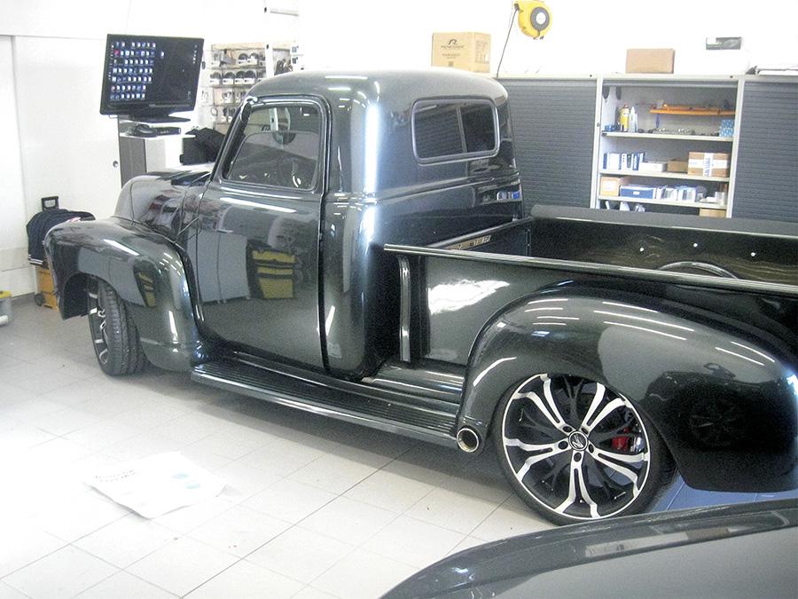 Pick-up Chevrolet impianto audio 600 Watt