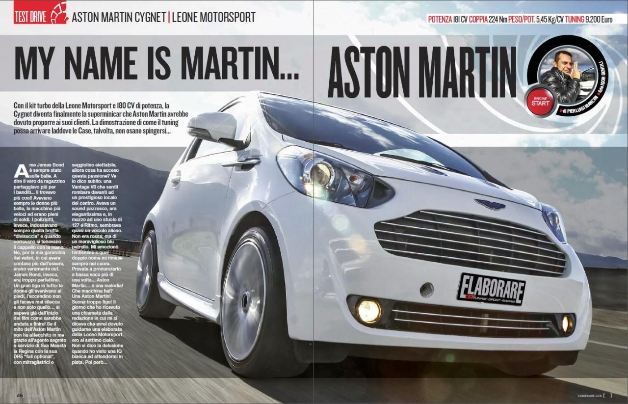 Aston Martin Cygnet by Leone Motorsport