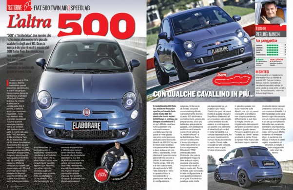Fiat 500 TwinAir 93 CV by Speedlab