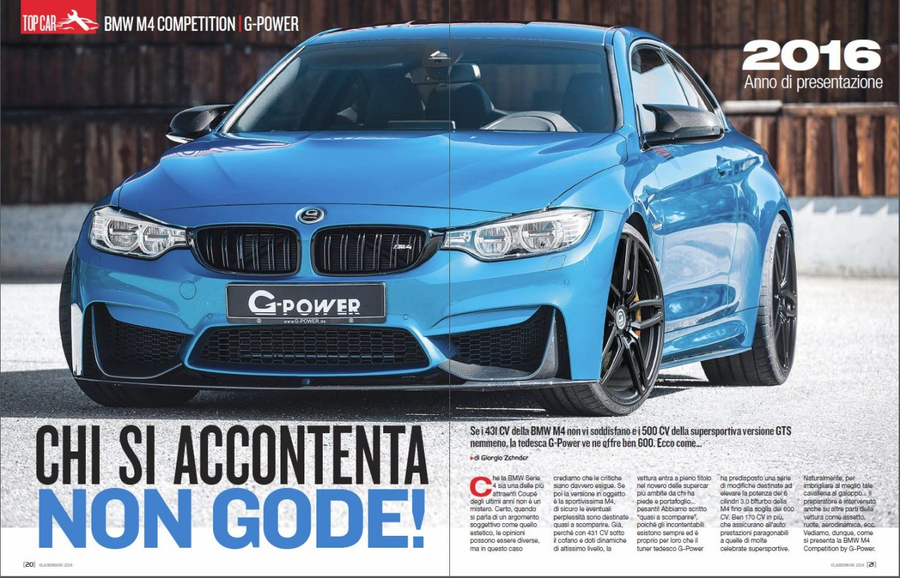 BMW M4 Competition by G-Power