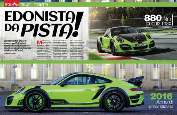 Porsche GT Street 640 CV by Techart
