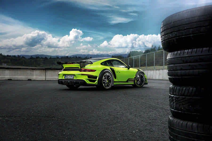 Porsche GT Street R 640 CV