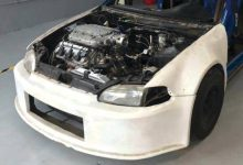 Honda Civic V6 Turbo by Bierre Racing