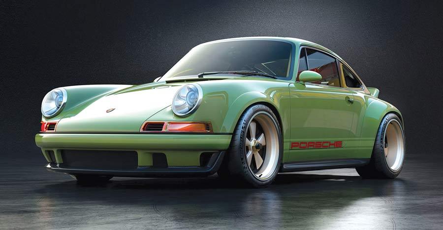 Porsche 911 DLS bell'esempio di Restomod