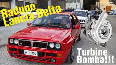 Raduno Lancia Delta Integrale Turbine Saito