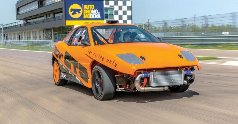 FIAT Coupé 20V turbo elaborata con preparazione CDT Autodromo Modena test pista Elaborare