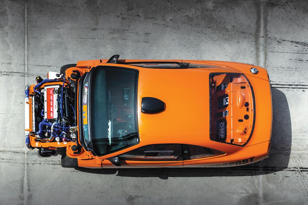 FIAT Coupé 20V turbo elaborata con preparazione CDT
