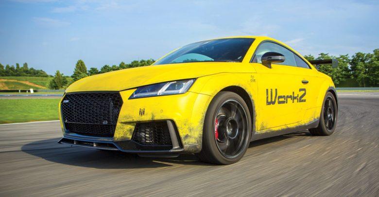 Audi TT RS S-Tronic elaborata con preparazione Werk 2 Automotive GmbH anteriore