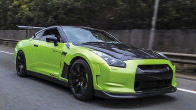 Nissan GTR R35 elaborata preparazione 690 CV anteriore