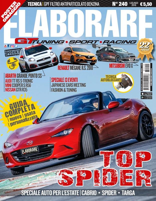 Cover Elaborare n° 240 Luglio-Agosto 2018