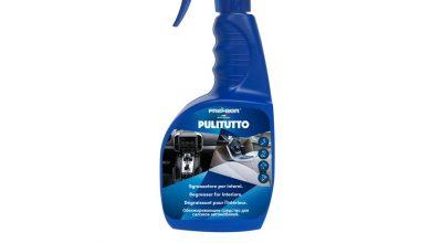 Come pulire pelle stoffe e plastiche dell'auto, ecco come fare con il detergente Pulitutto by Fra-Ber