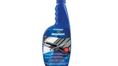 Come eliminare calcare e sporco dai vetri dell'auto, ecco come fare con il liquido Deomagic by Fra-Ber