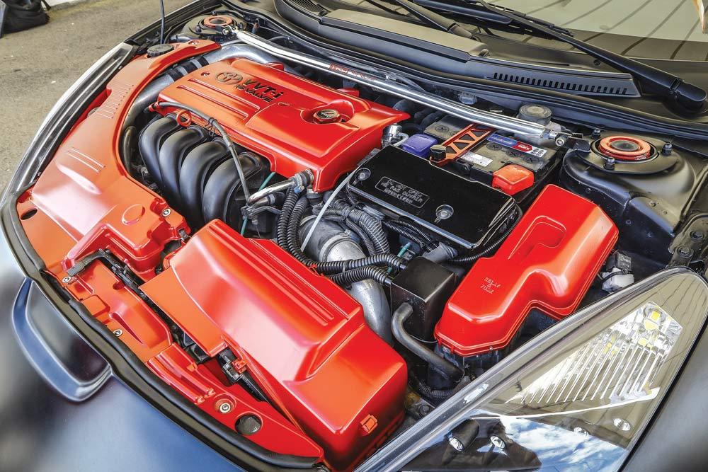 Toyota Celica 1.8 VVT-I elaborata motore