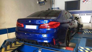 BMW M5 F90 elaborata 705 CV con preparazione Franco Alosa