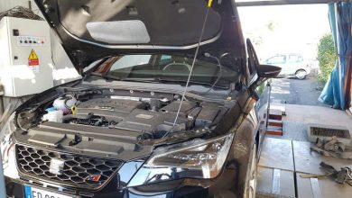 Seat Leon Cupra elaborata 398 CV con preparazione Ecu-Tronika e turbo originale!