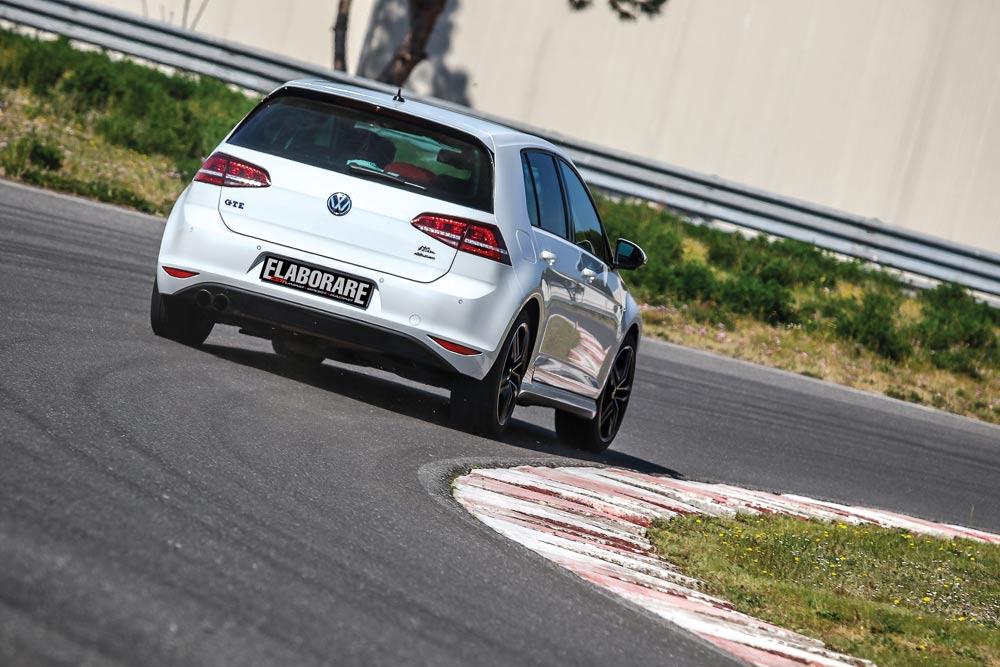 Volkswagen Golf GTE elaborata 246 CV con preparazione Abbasciano