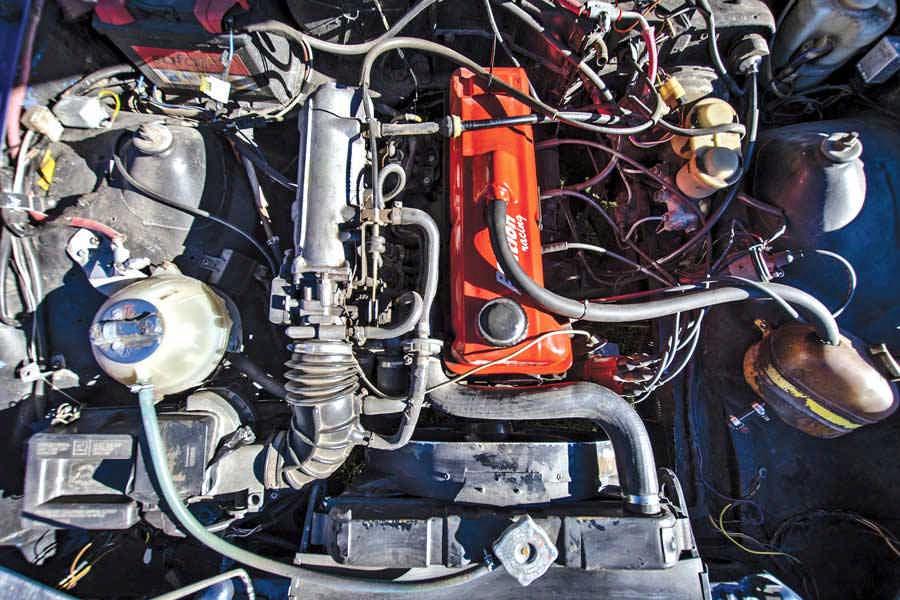Opel Manta GTE 1976 auto storica elaborata