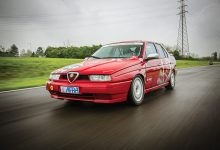 Alfa Romeo 155 Gruppo N auto storica elaborata con preparazione Scuderia del Portello