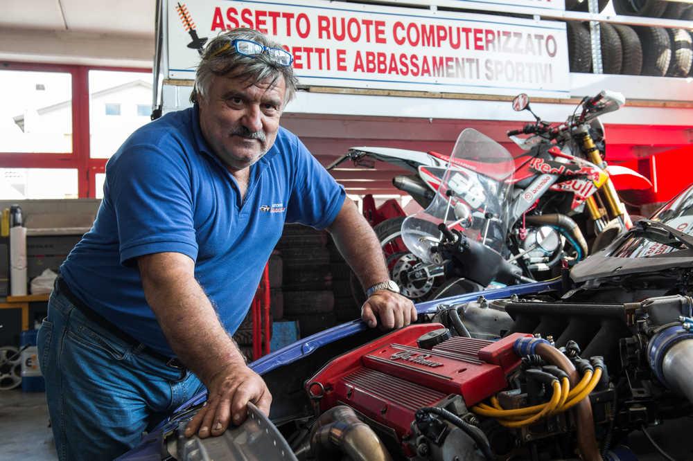 Paoloni e il motore