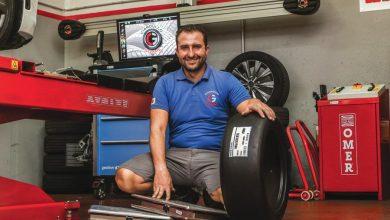 Luigi Ciardullo titolare di Ciardullo Gomme, specialista in assetti per auto sportive e stradali