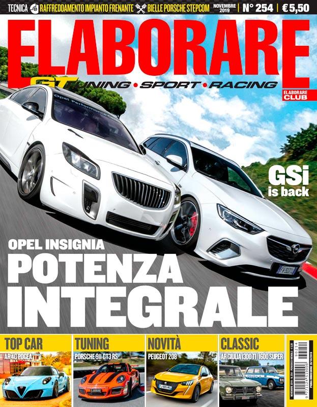 Cover Elaborare Novembre n° 254 2019