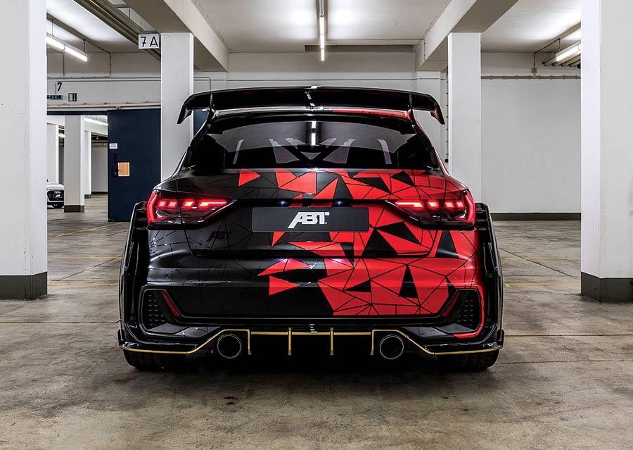 """Audi A1 """"1of1"""" elaborata 400 CV con preparazione Abt posteriore"""