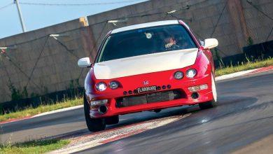 Honda Integra Type R elaborata 480 CV -anteriore