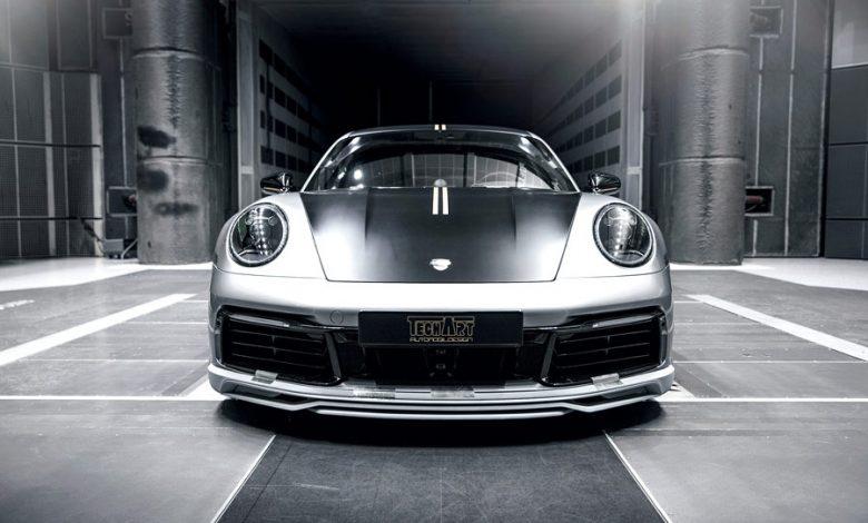 Porsche 911 4S by TechArt - anteriore