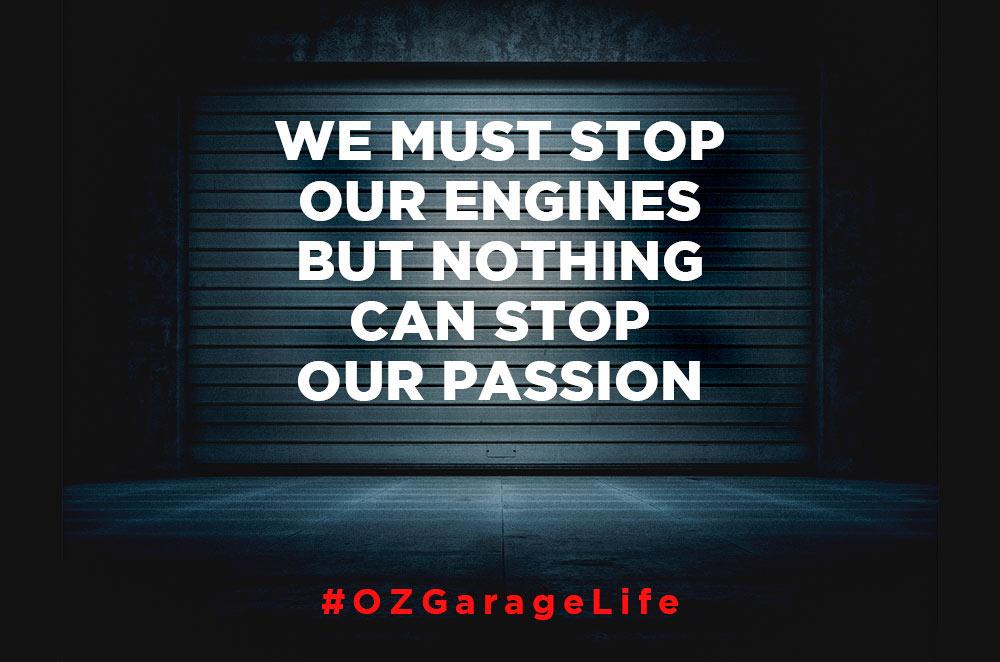 Campagna #OZgarageLife per la community online di appassionati d'auto