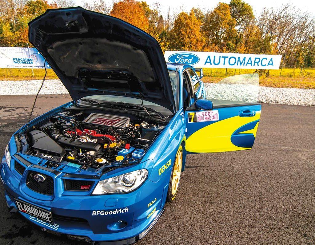 Subaru Impreza STi 2.5 393 CV - motore