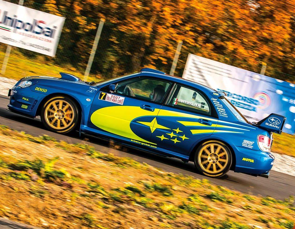 Subaru Impreza STi 2.5 393 Cv - livrea WRC