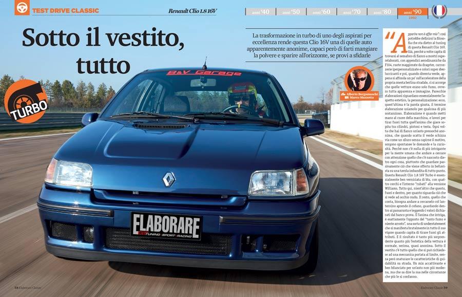 Renault Clio 1.8 16V elaborata Turbo 235 CV - Elaborare 267