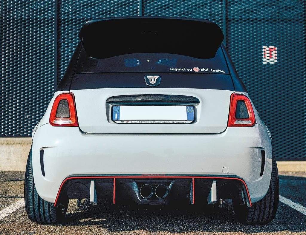 Abarth 500 by CHD Tuning - posteriore