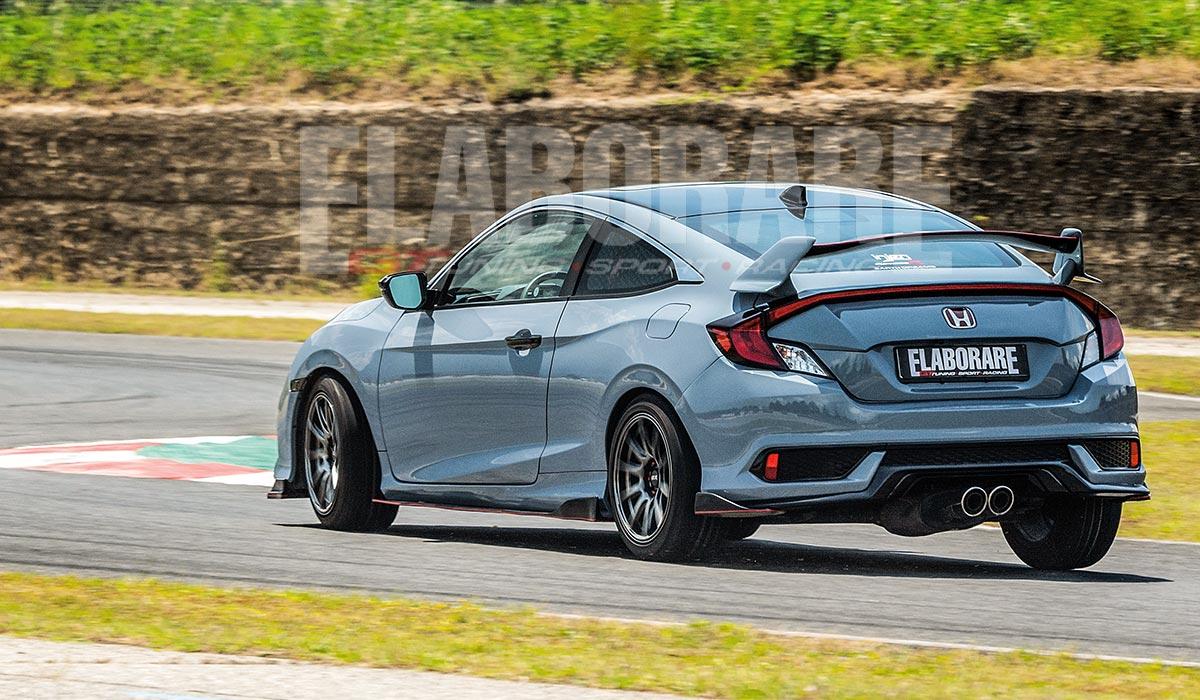 Honda Civic Coupe 1.5 Turbo-Posteriore